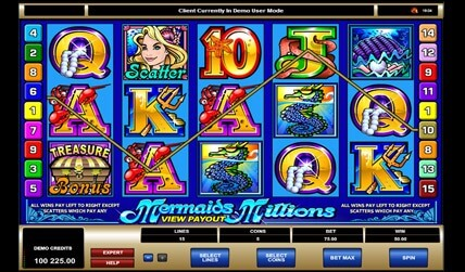 Mermaids Millions Slot screenshot 2