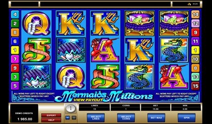 Mermaids Millions Slot screenshot 1